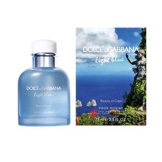 Dolce & Gabbana Light Blue Beauty of Capri EDT for Men 75ml