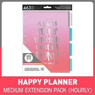 Happy Planner Hourly - Six Month Extension Pack - Classic