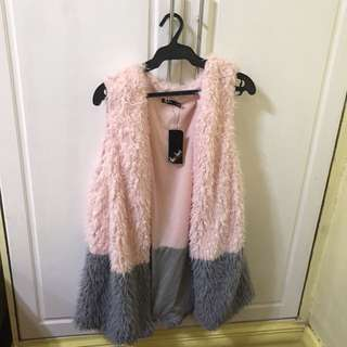 Furry Cover Up for your Spring or Autumn Travel