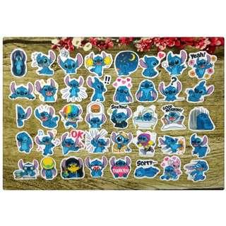 [Instock] Stickers Scrapebook/ Planner Stickers #66 (Stitch)