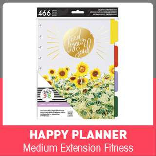 Happy Planner Wellness Extension Pack - Classic