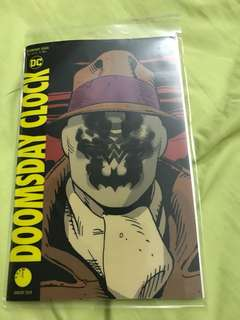 DC Watchmen Doomsday Clock #1 Lenticular Cover