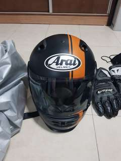 Full Face Motorbike Helmet with other accessories $400(nego)