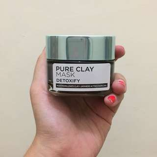 Loreal Pure Clay Mask