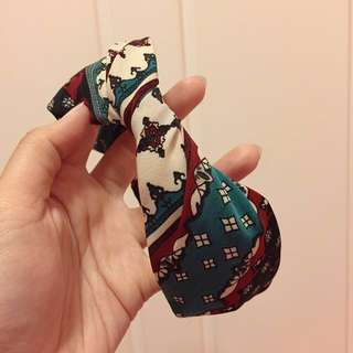 花紋布頭箍 headband