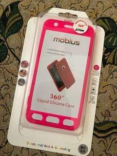 Samsung J5 Prime 360 Silicon Case (Hot Pink)
