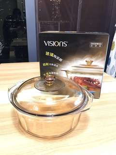 康寧Visions玻璃陶瓷鍋,4.1L