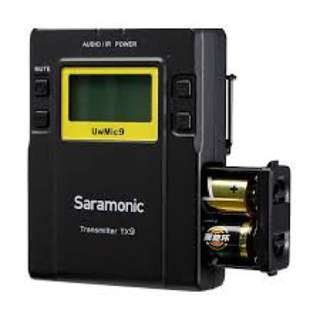 Saramonic TX9 96-Channel Digital UHF Wireless Bodypack Transmitter with Lavalier Mic