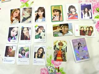 Twice official photocards