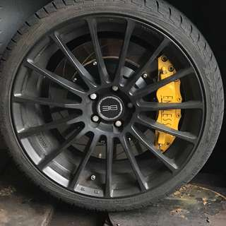 Endless 6 pot 4pot brake for sale for Mercedes come with rotor and new brake pad