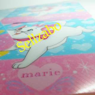 Marie Cat 4 Pcs Plastic Coasters Pink Blue Colour Sellzabo