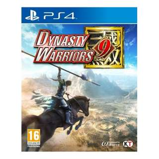 PS4 Dynasty Warriors 9 (Jap/Chin/Eng Voice/Chin/Eng Sub)
