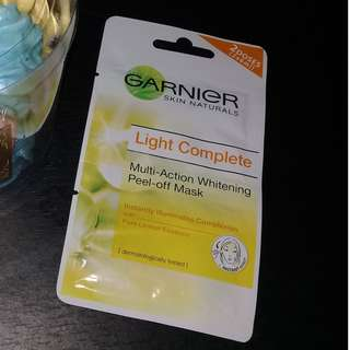Garnier Peel- Off Mask