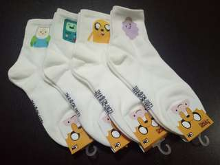 Adventure Time 11 Sock (3 for $10.00)