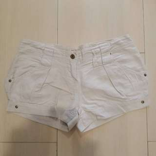 Preloved Sale Body&Soul Pants Short Cream Beige Celana Pendek