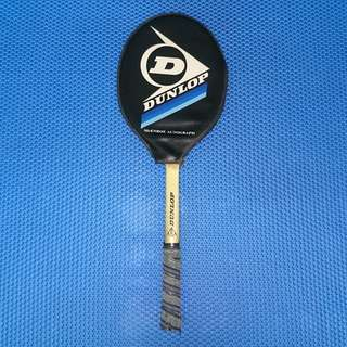 🆒 Vintage 1980s John McEnroe Autograph Dunlop Wooden Tennis Racket