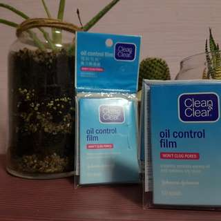 Clean And Clear oil control 50 sheet