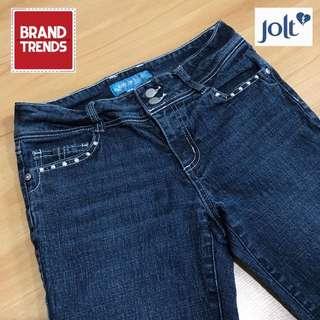 Jolt Jeans Low Waist Capri Denim Pants