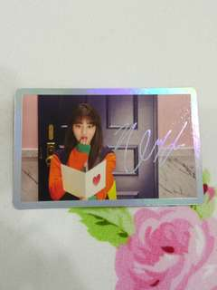Jihyo signal official photocard
