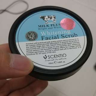 Selling New Whitening Facial Scub from Milk Plus