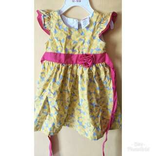 Baby girl Yellow Dress