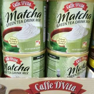 Cafe d'vita  matcha smoothie