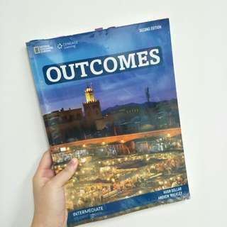 Outcomes intermediate students's book 2nd edition (National Geographic learning /Cengage )
