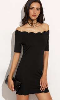 Black Hem Dress