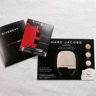 Sample Size! Givenchy and Marc Jacobs