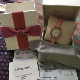 TITUS 鐵達仕 藍寶石錶面 斯文 有禮盒