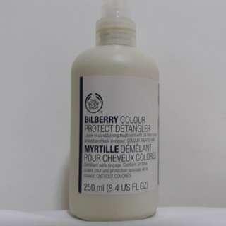 The body shop bilberry hair spray