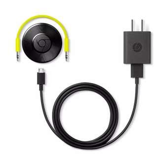GOOGLE Chromecast Audio (brand new, sealed, original)