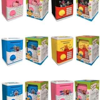 Cartoon Character ATM Money Bank