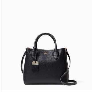 SALE Kate Spade Carter Street Devlin Handbag Satchel Slingbag Black