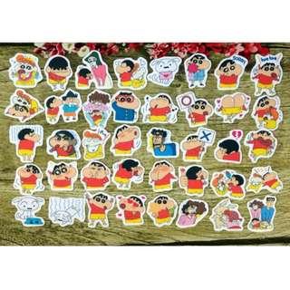 [Instock] Stickers Scrapebook/ Planner Stickers #73 (Crayon Shinchan)