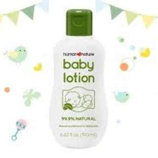 Human Nature Baby Lotion Powder Love 190ml