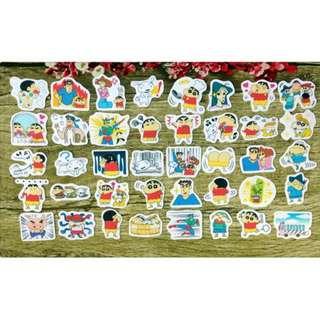 [Instock]  Scrapbook Stickers / Planner Stickers #74 (Crayon Shinchan/ La bi xiao xin)