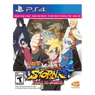 PS4 Naruto Shippuden: Ultimate Ninja Storm 4 Road To Boruto