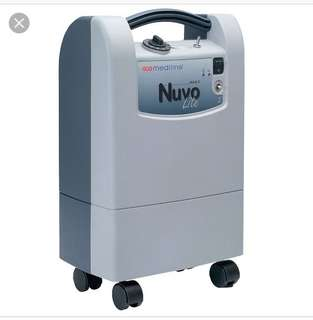 Nuvo mark 5 oxygen