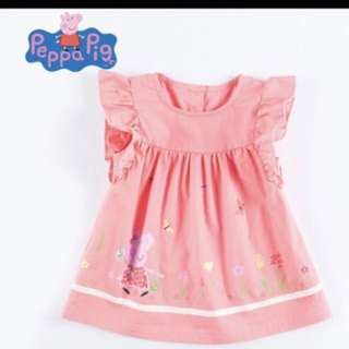 Authentic peppa pig dress