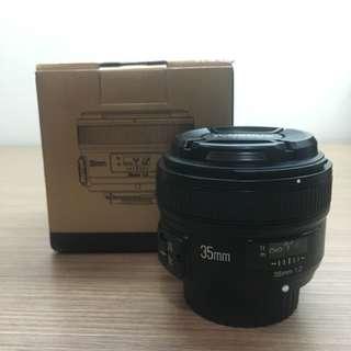 Yongnuo YN35mm F2N Nikon