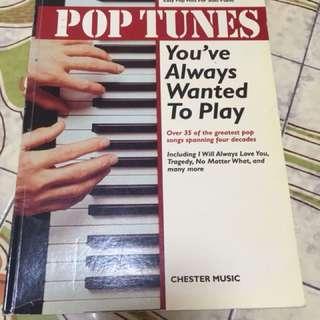 Pop Tunes for Popular Pop Songs