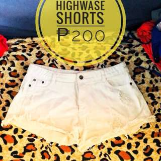 Highwase short