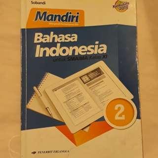 Buku bahasa indonesia sma kelas XI #UBL2018
