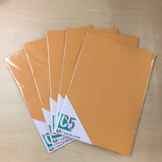 C5 size envelopes