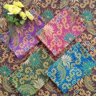 Kain batik katun prima (terima jahit seragam)