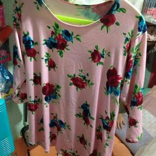 Womens blouse color pink