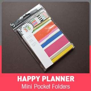 Happy Planner Mini Pocket Folders