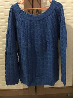 Knitt sweater blue