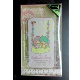 Sanrio Little Twin Stars iPhone 4 手機殼 保護套 保護殼